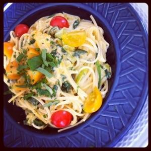 sauce tomates jaunes