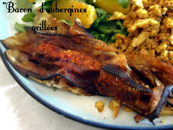 bacon aubergine