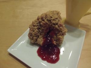 beurre arachide muffin
