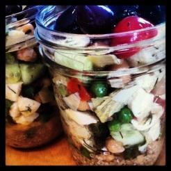 salade de lili en potsmason