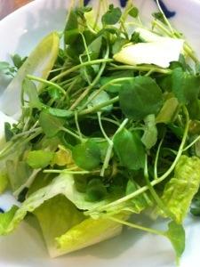 Salade de cresson et citrons grillés3