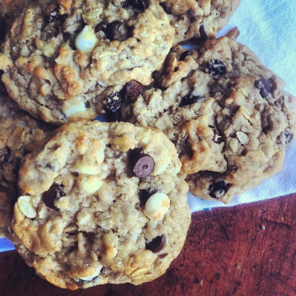 biscuits super moelleux avoine raisins et chocolat vivre vg. Black Bedroom Furniture Sets. Home Design Ideas