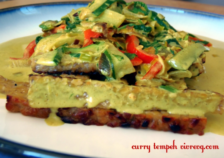 curry tempeh