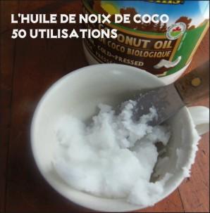 50 utilisations pour l huile de noix de coco vivre vg. Black Bedroom Furniture Sets. Home Design Ideas