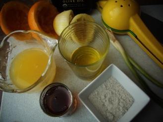 huile citron erable sel ail orange