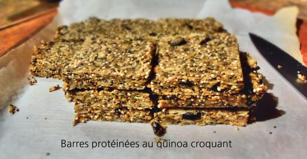 barres proteines quinoa