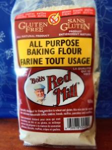 farine sans gluten tout usage Bob's Red mill sans gomme de xanthame