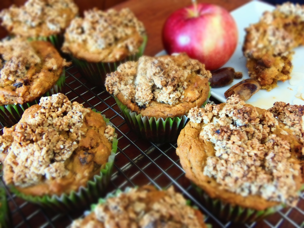 muffin patate douces dattes amandes