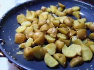 pommes de terre grelots dorés