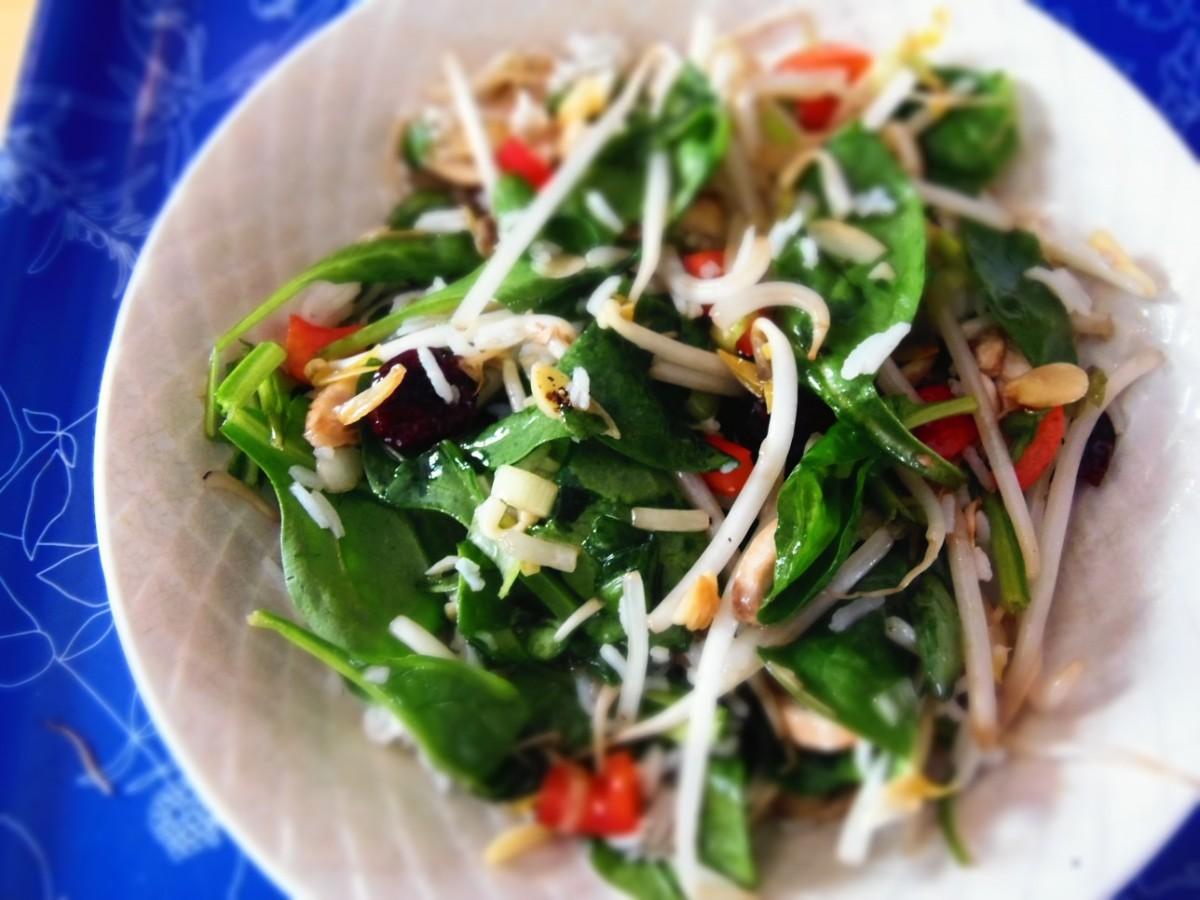 Salade d amour / repas pratique
