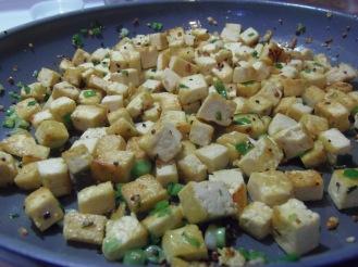 faire revenir le tofu