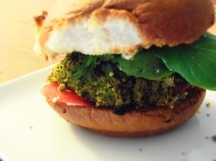 burger tofuepinards