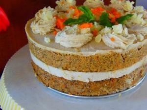 gateau cru carottes sarrasin fromage cajou