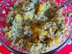 quinoa ananas
