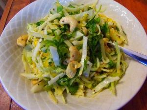 salade chou mangue