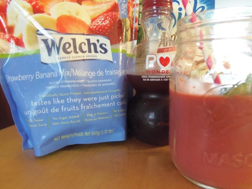 bol smoothie fruités