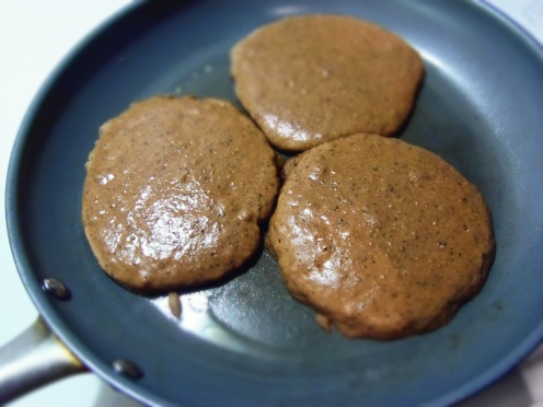 cuire pancake cacao