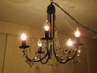 chandelier romantique