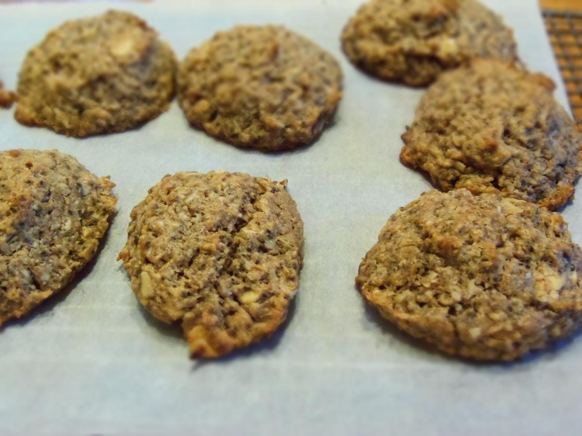 Biscuits moelleux beurre d'arachides, chocolat et avoine