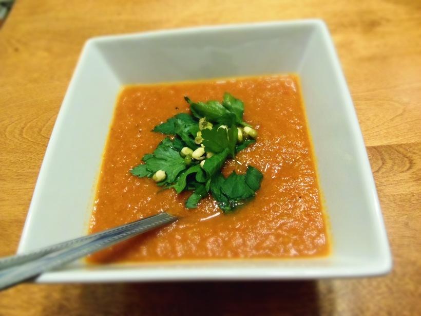 soupe lentilles tomates