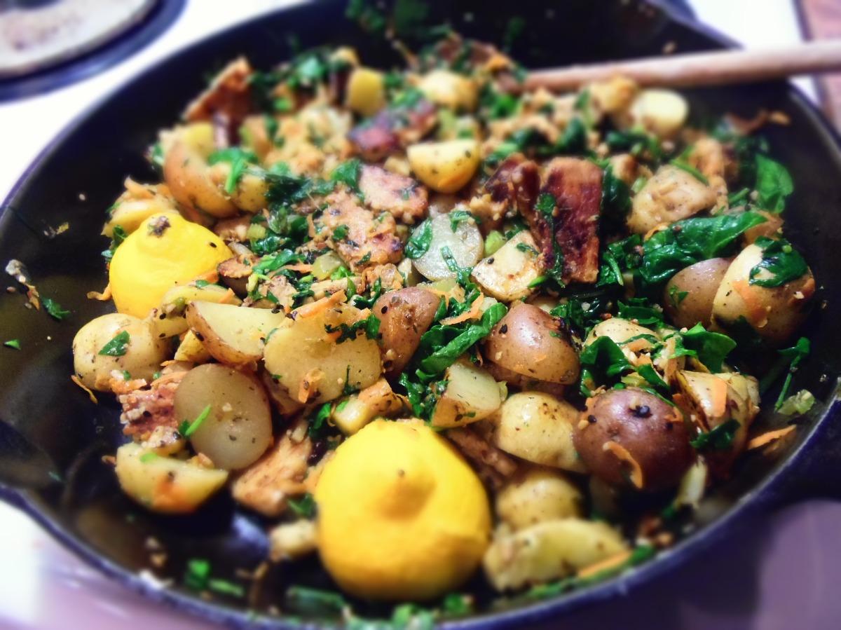 Fricass e de tempeh et l gumes d hiver citron s same - Legumes d hiver a cuisiner ...