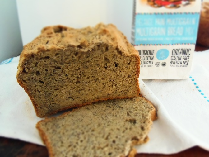 Pain multigrain sans gluten-bio-vegan-machine à pain