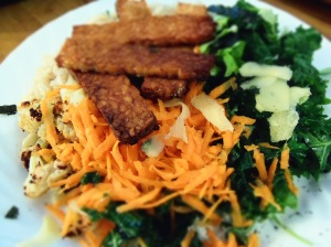 bol macrobiotique recette tempeh carottes
