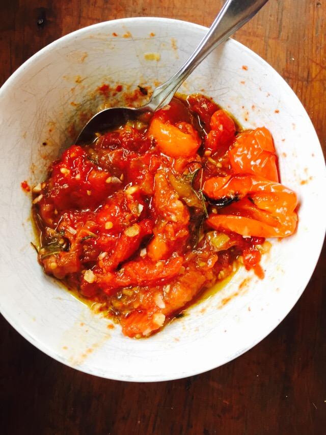 sauce tomates confites de  mr.tomates recette vivrevg.com