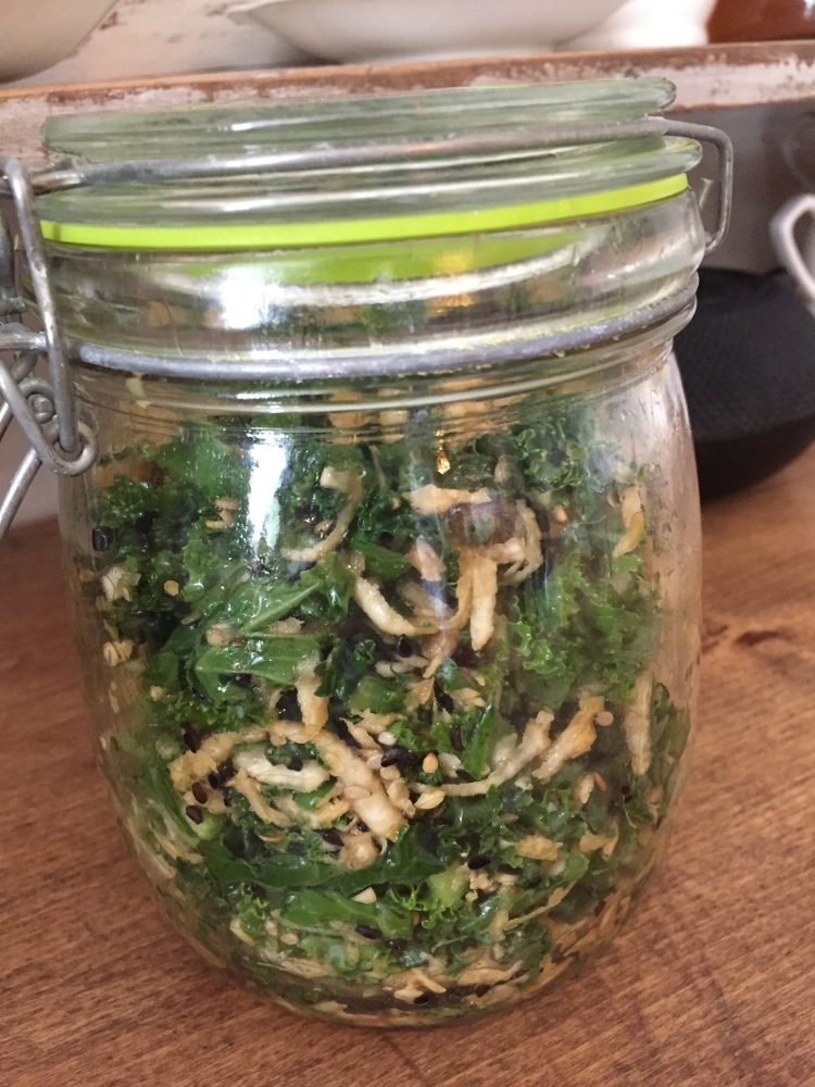 recette vivrevg.com salade de kale kimchi