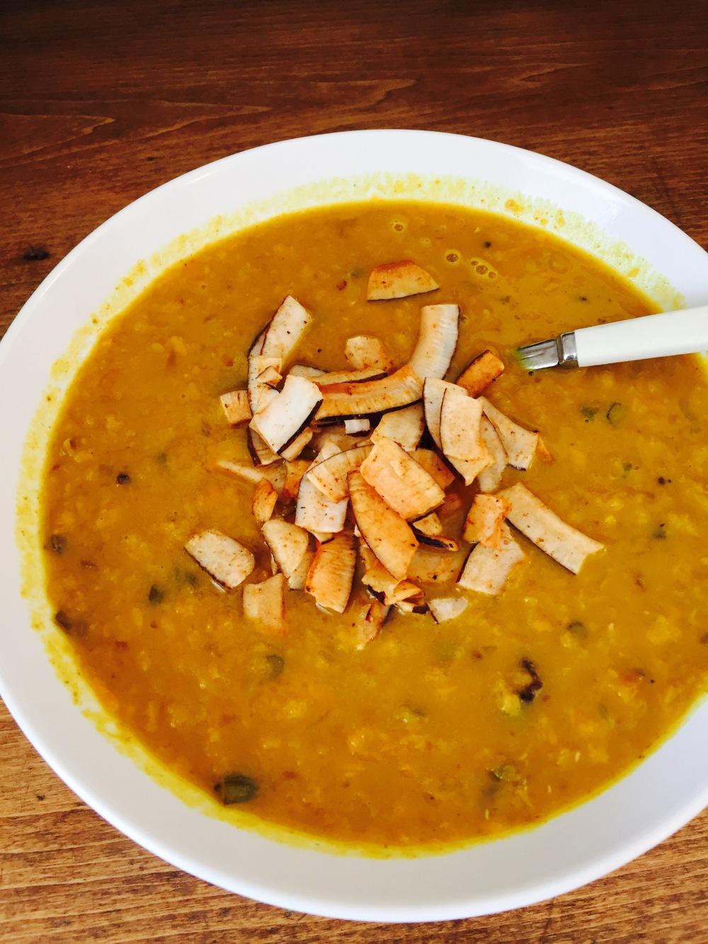 recette soupe lentille patate douce et tomates sechees vivrevg.con