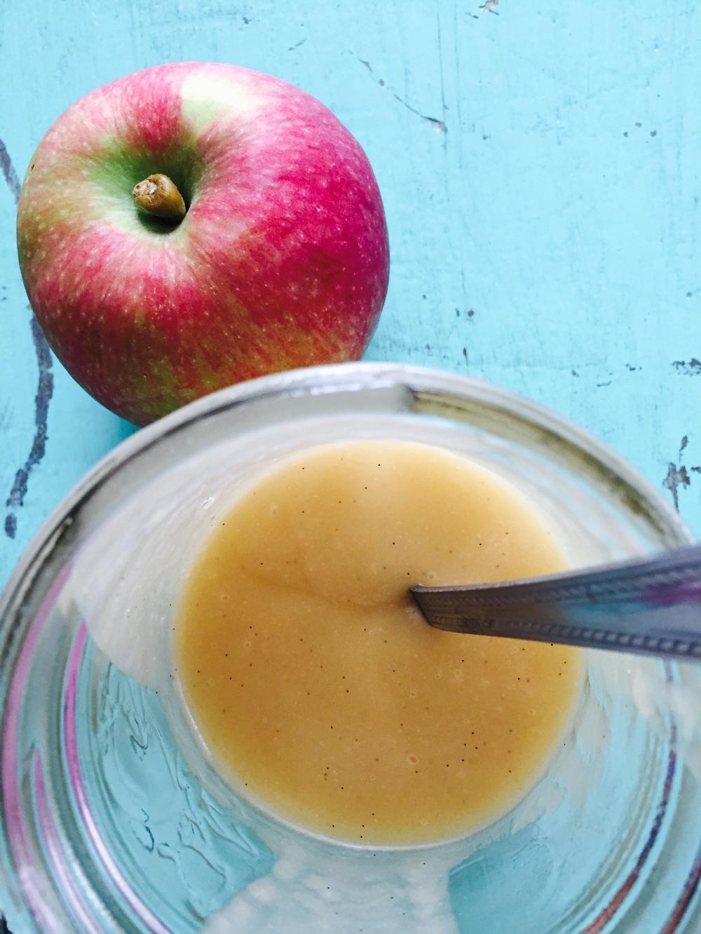 beurre de pommes vegane vivrevg recette