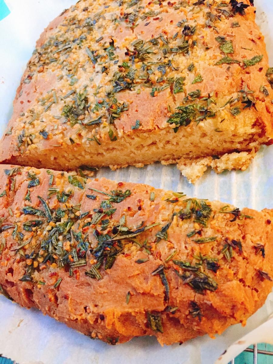 Focaccia sans gluten en moins de 25 minutes